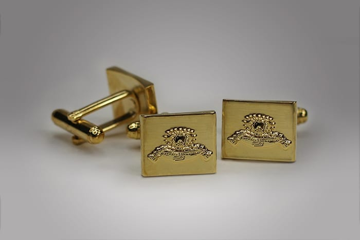 You name it and we can customize it to your liking, take these custom cufflinks for example, elegantly designed to feature our clients brand for their gift with purchase program.