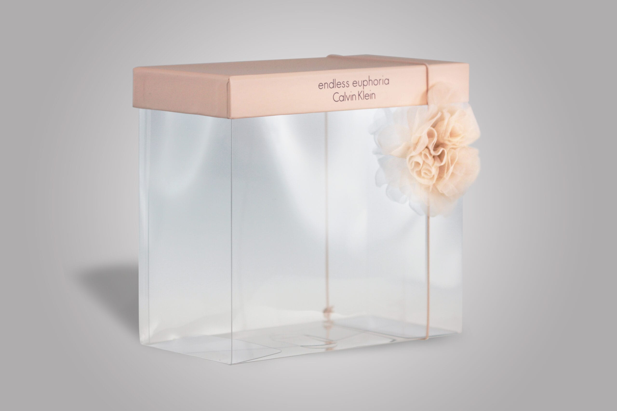 We work closely with you to ensure that your product gets the custom clear packaging it deserves, and this custom designed clear box is no exception.