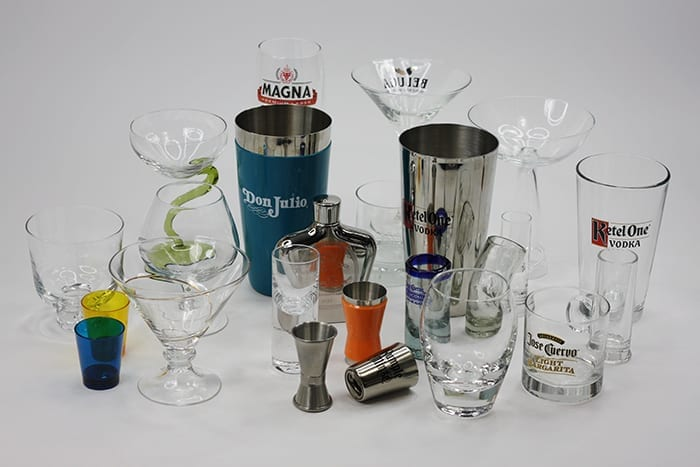 We can put your brand, logo or design on just about anything, including any type or style of glassware you can think of to create custom branded glassware for your gift with purchase program.