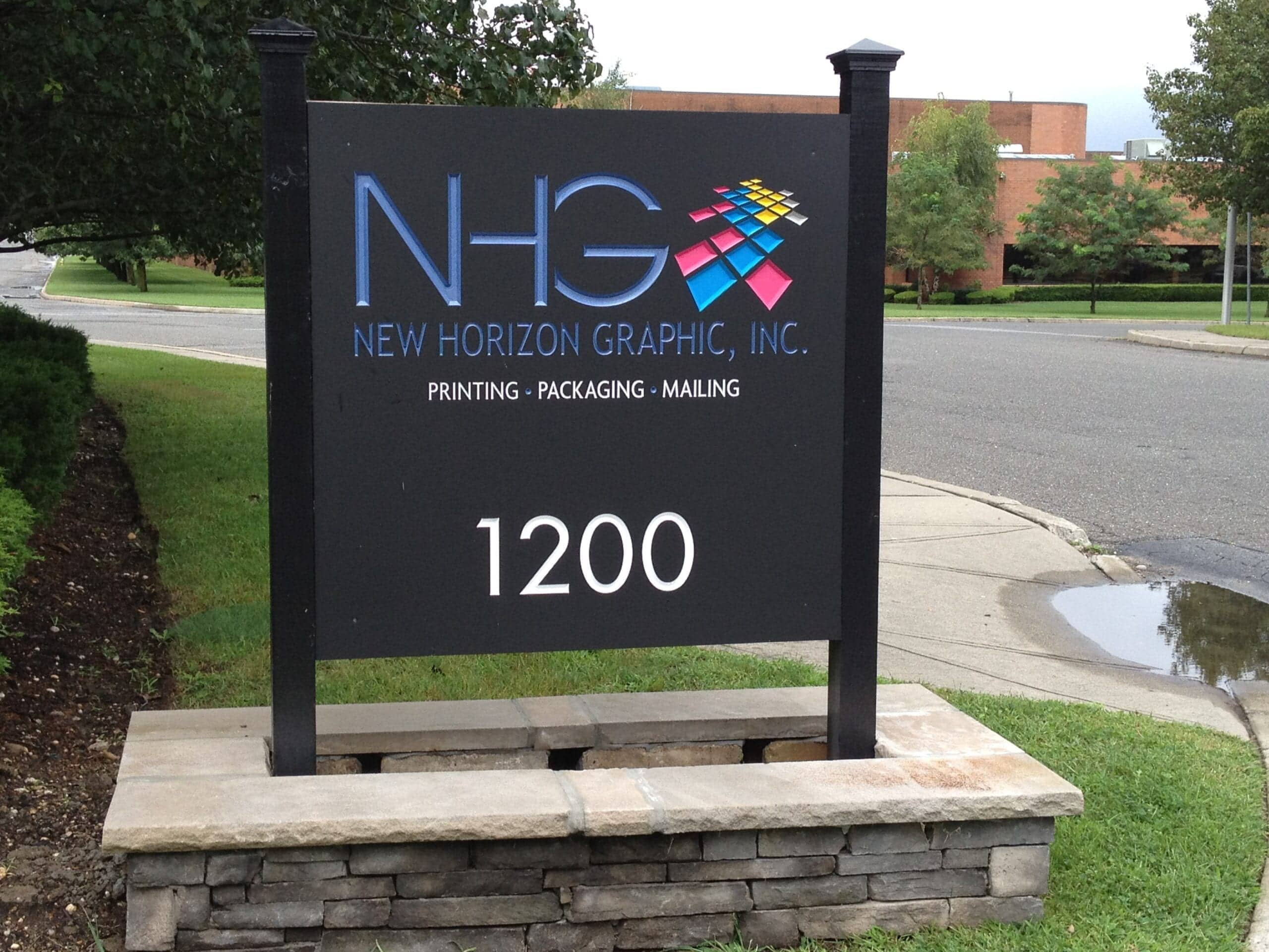 Design and create custom signs in many different sizes and styles to help increase visibility for your brand and/or business.