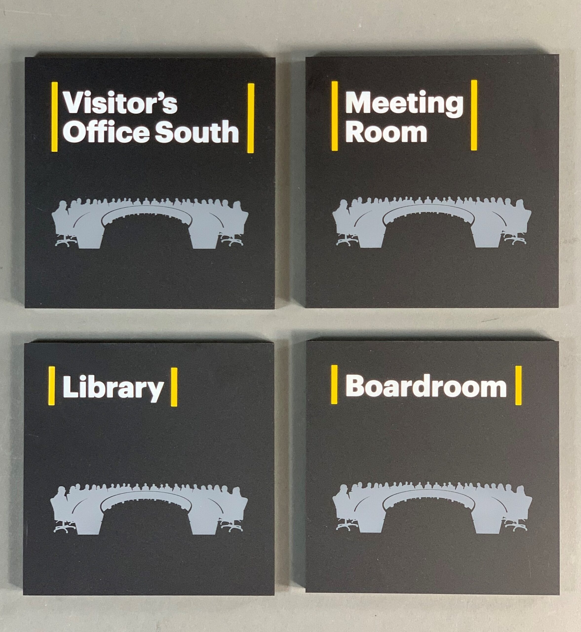 Fully customize signage for your building, utilizing our top notch manufacturing capabilities ensures excellent design and finish.