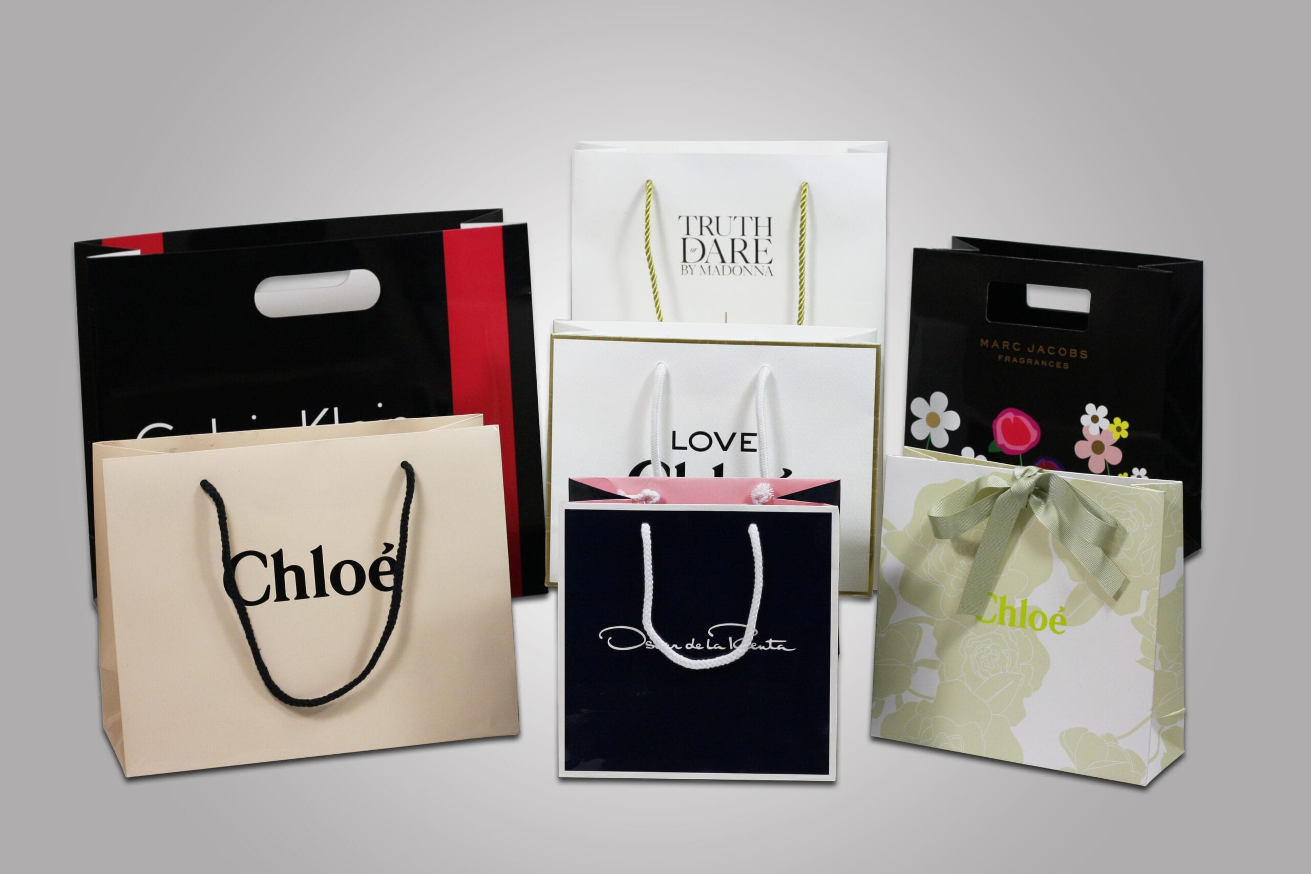 Our custom printing paired with a variety of finishes can turn a humble retail bag into a premium marketing tool. With PPD&G, you can choose almost any shape, size or color, to create the perfect custom retail bag for you and your brand.