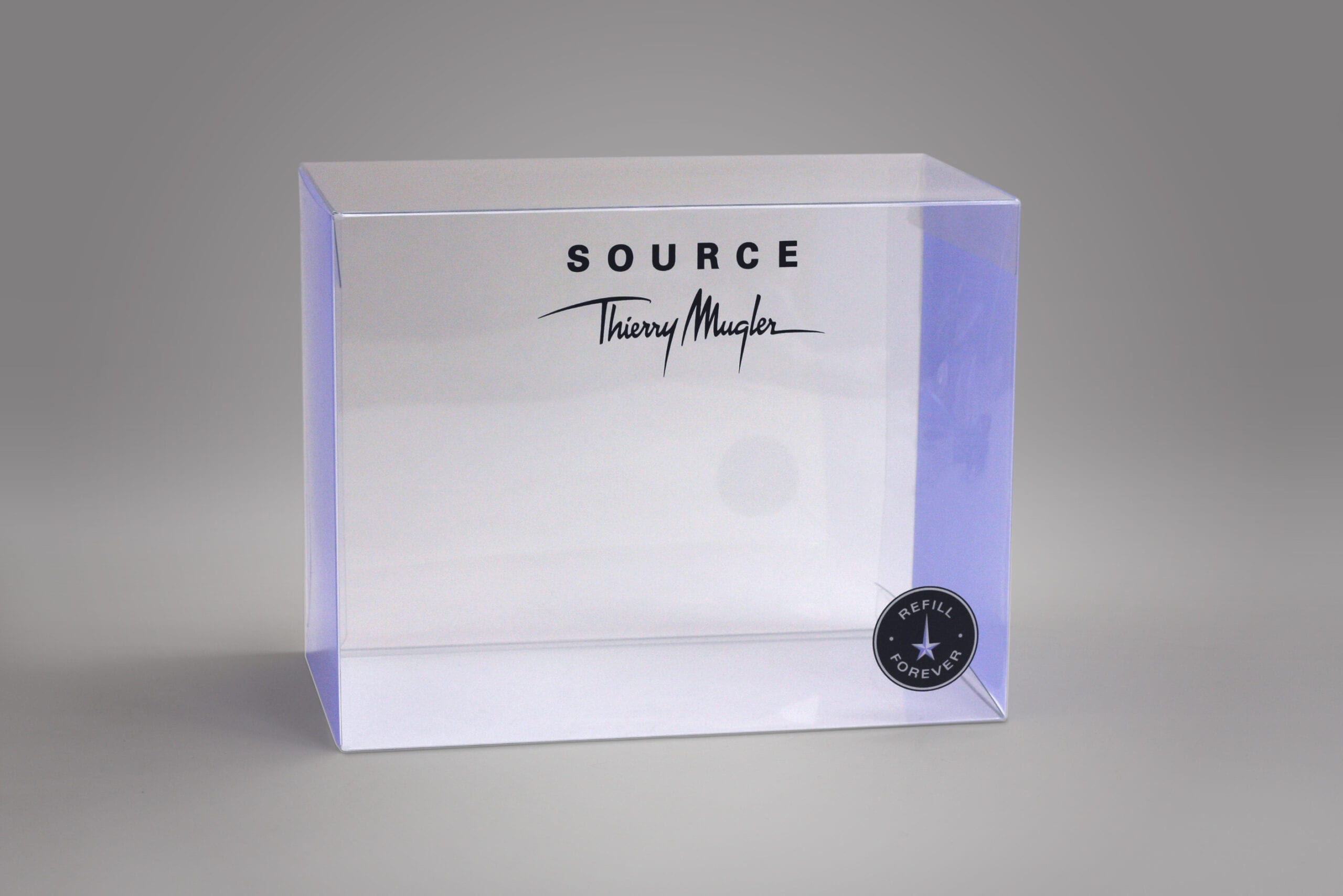 As a leader in our industry in custom clear packaging, we take pride in our ability to create and manufacture visually appealing packaging for your product. This custom clear folding box we created for a client exemplifies our ability to package your product effectively.