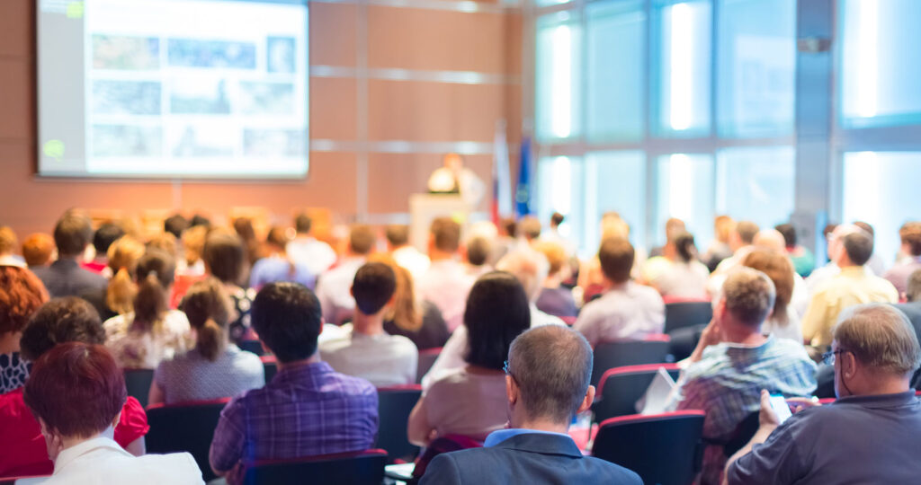 conference with powerpoint presentation