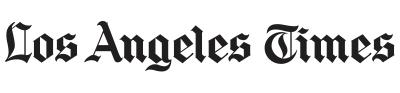LA newspaper brand logo