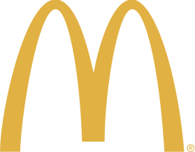 qsr burger brand logo