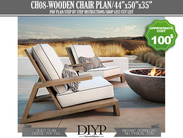 outdoor furniture, garden chairs, comfortable chair, chair plans easy, build a chair, build your own chair, diy chair plan, outdoor wood chair, chair plans, furniture plans, lounge chair, arm chair, garden furniture