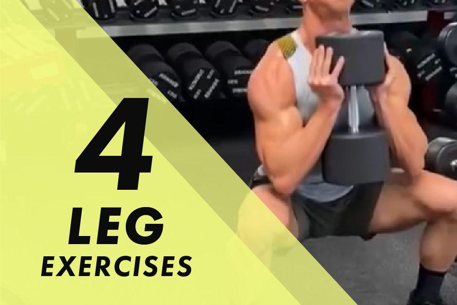 Josh Bowmar's 4 Leg exercises to add to your next leg day: