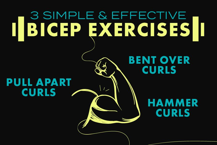 3 Effective and Simple Bicep Exercises