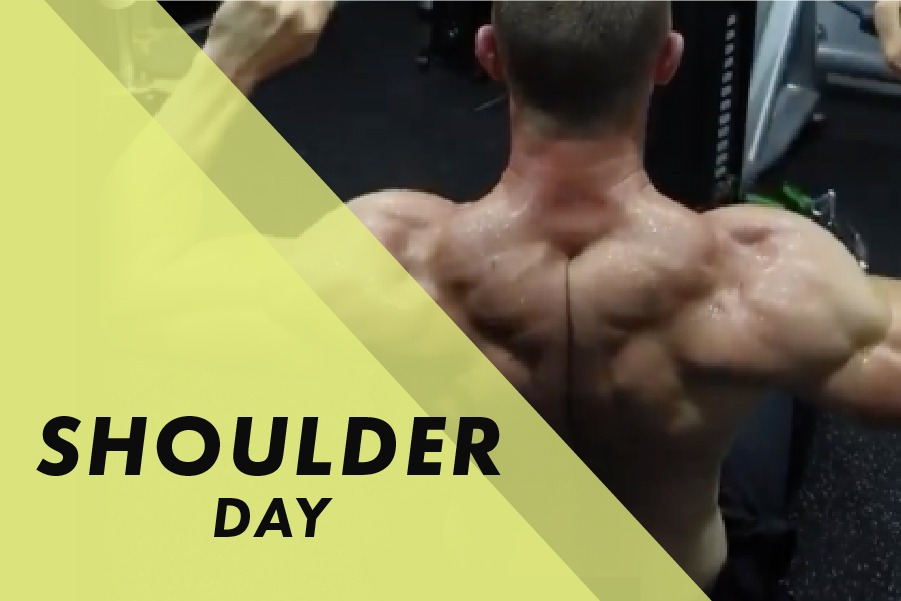 Shoulder day with Josh Bowmar: