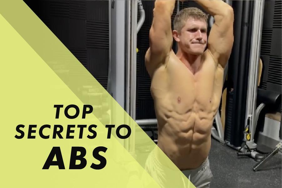Josh Bowmar's Top Secrets To Abs: