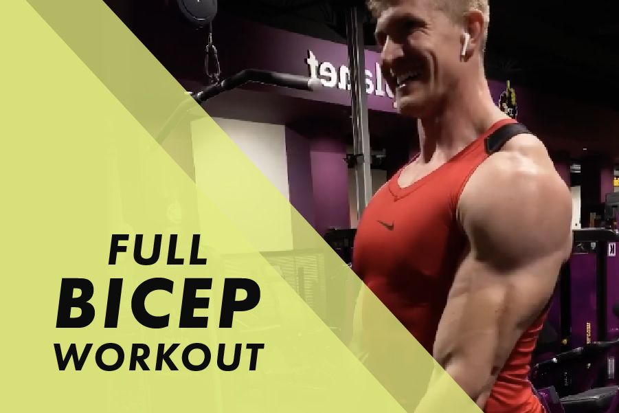 Full Bicep Workout with Josh Bowmar: