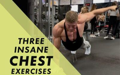 Three Insane Chest Exercises with Josh Bowmar: