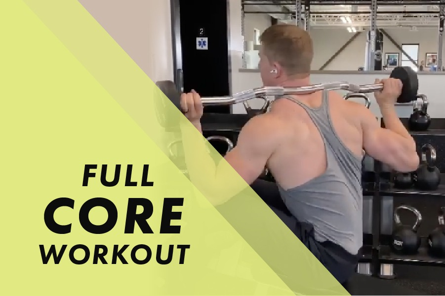 Full Core workout with Josh Bowmar: