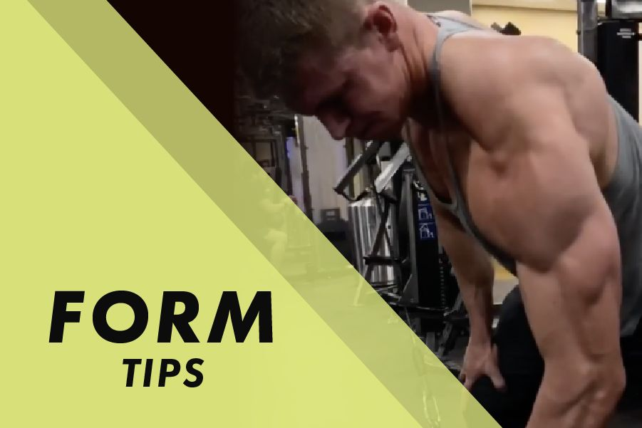 Form Tips with Josh Bowmar: