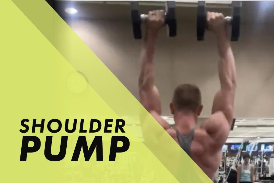 Shoulder Pump with Josh Bowmar: