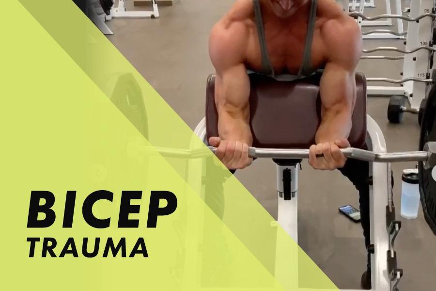 Bicep Trauma with Josh Bowmar: