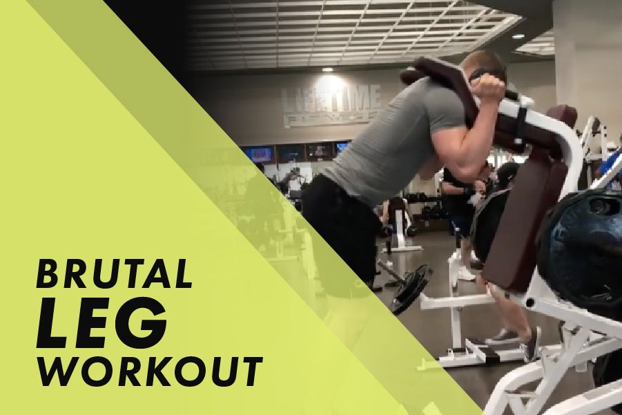 Brutal Leg Workout with Josh Bowmar: