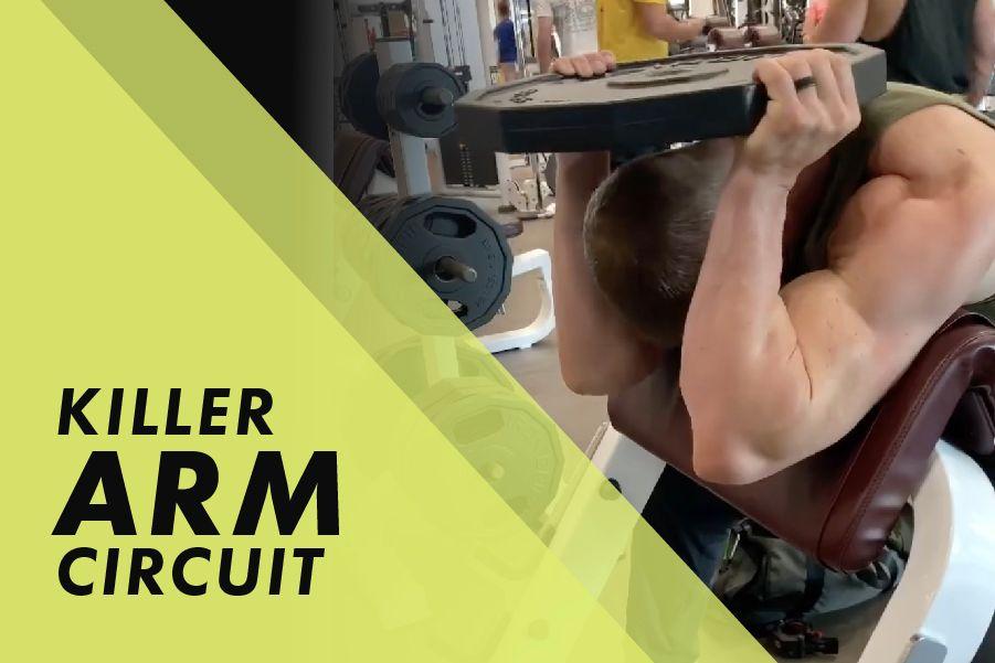 Killer arm circuit with Josh Bowmar:
