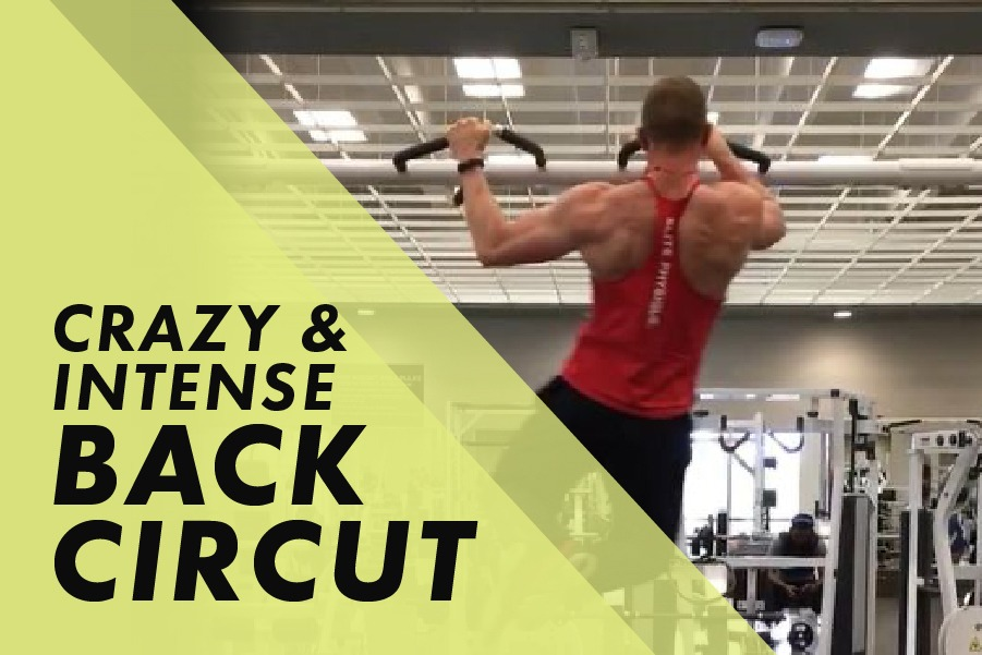 Crazy and Intense Back Circuit with Josh Bowmar: