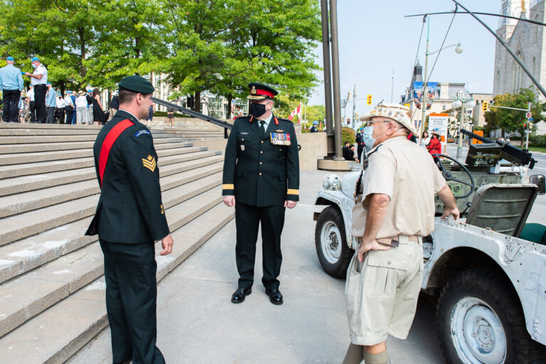 U.N. Peacekeepers Day at Reconciliation Monument - Ottawa