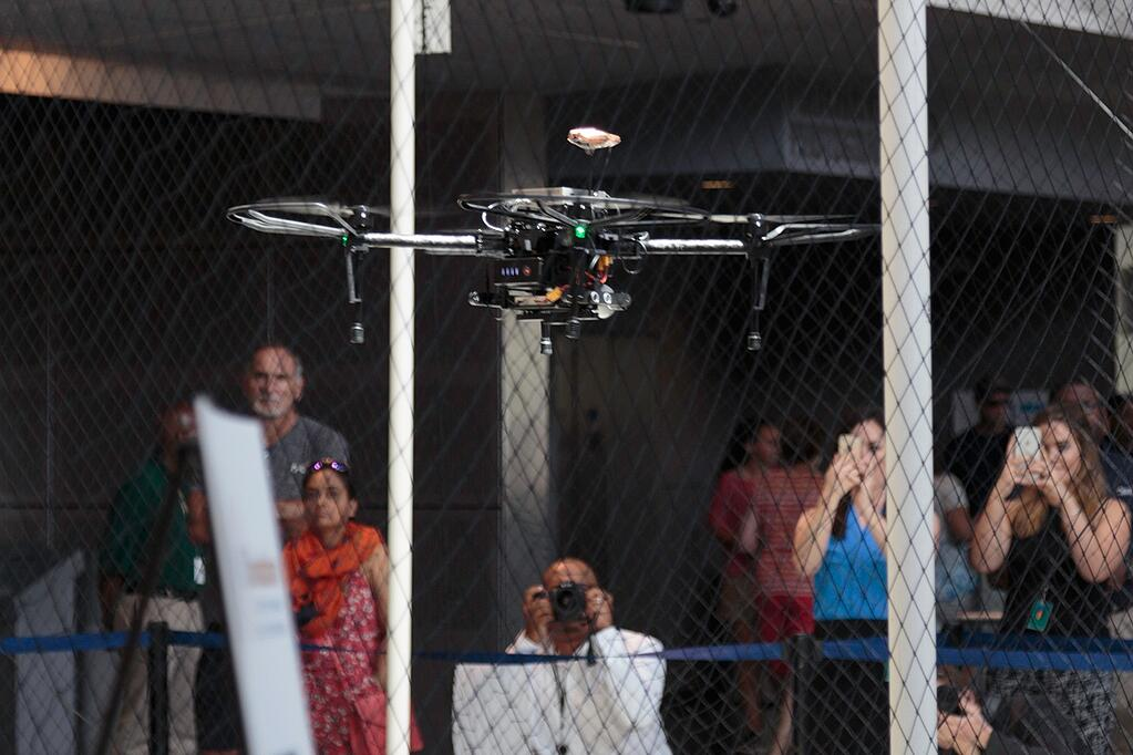 Ellumen's drone at the White House