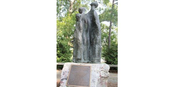 The Hope  Sarah Aldouby Bronze Site: Virginia War Museum, 9285 Warwick Boulevard