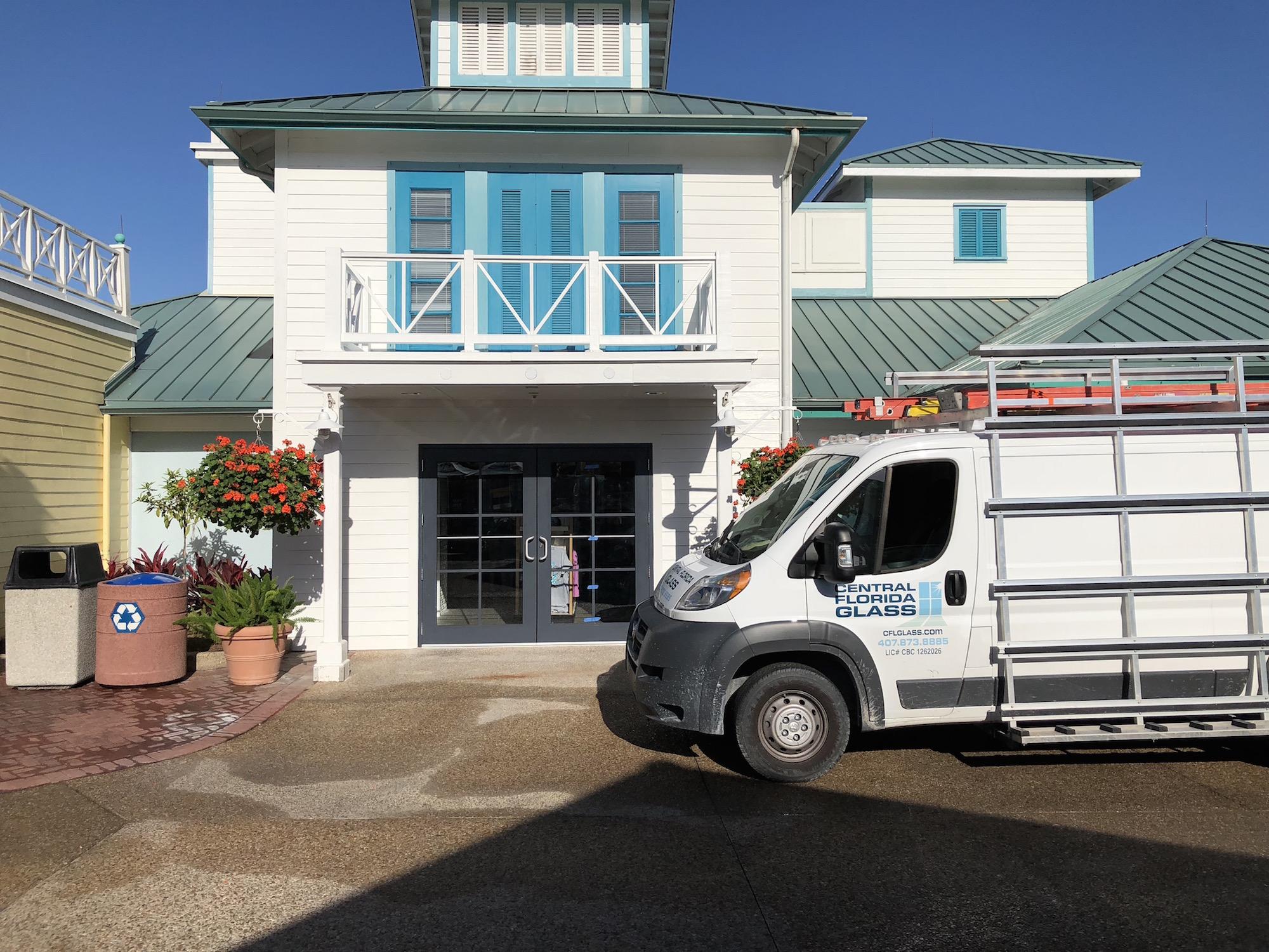 Commercial business window and door repair 1