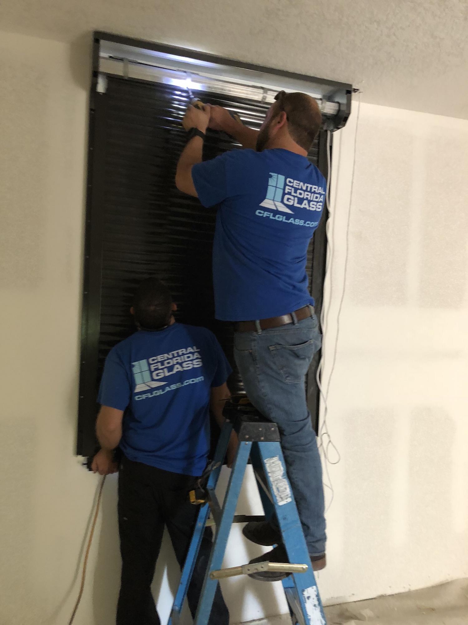 Residential broken window repair 16