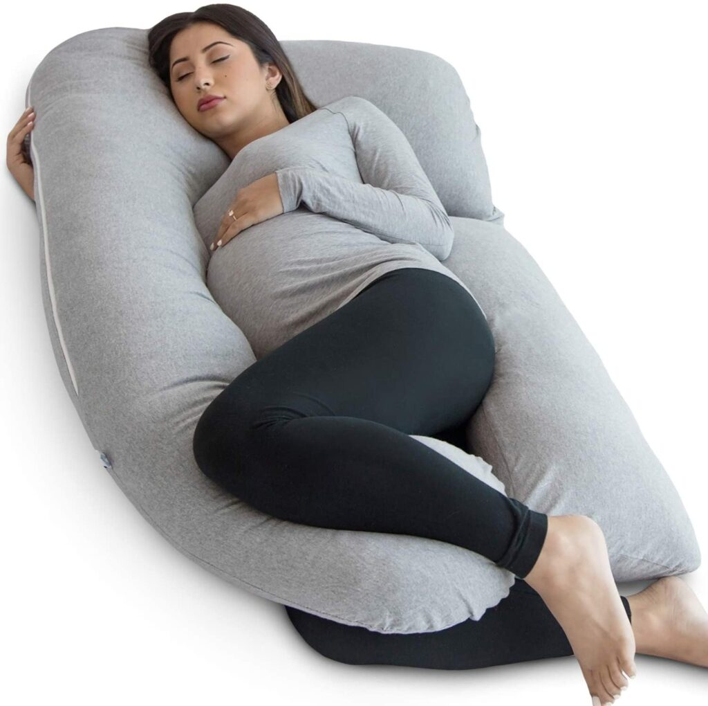 (56% OFF) Pregnancy Pillow, U-Shape Full Body Pillow and Maternity Support
