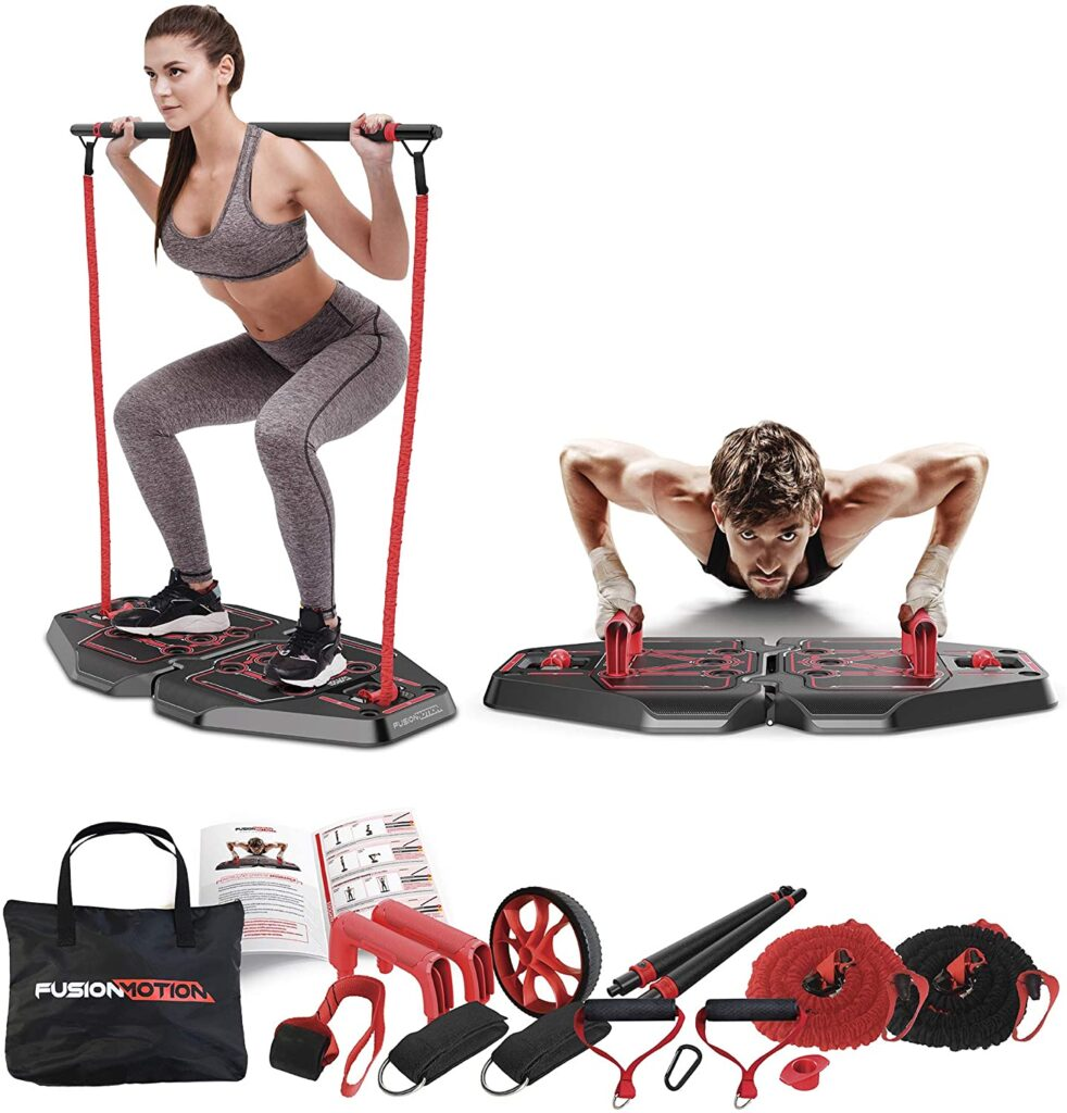 (SAVE ) – Full Body Workout Home Exercise Equipment – 9.99
