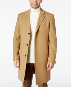 Ralph Lauren Luther Wool Blend Top Coat On Sale For Nearly 75% Off!