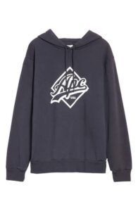A.P.C. Designer  Logo Hoodie Is On Sale For 53% Off!