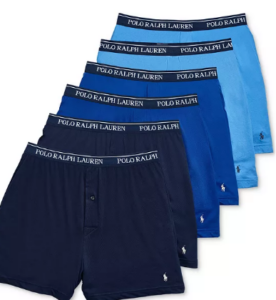 Polo Ralph Lauren Knit Boxers 6-Pack On Sale For 30% Off!