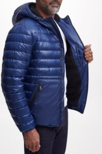 KENNETH COLE Faux Shearling Lined Puffer Jacket On Sale For 74% Off!