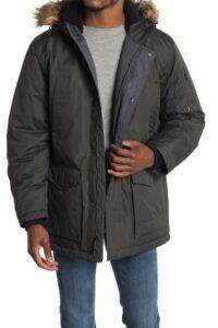 Hawke & Co. Faux Fur Long Snorkal Jacket On Sale For 74% Off!