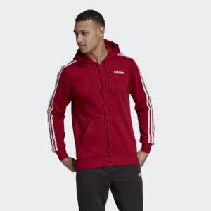 adidas Essentials 3-Stripes Fleece Hoodie On Sale For An Extra 30% Off!