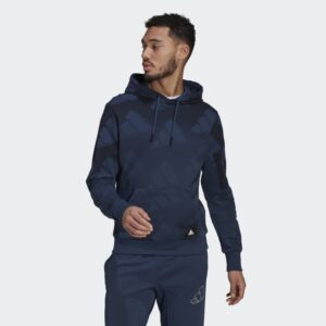 adidas Allover Print Sweatshirt On Sale For 30% Off!