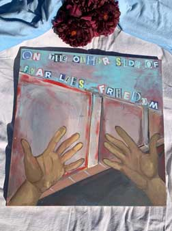 """Painting """"Other Side of Fear"""""""