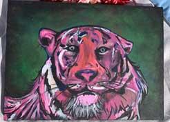 Tiger Portrait 12 x 16