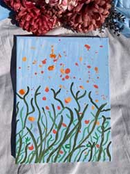 Splatter Plants 16x20