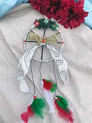 Christmas Design dreamcatcher