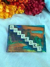 Gulfport watercolor painting