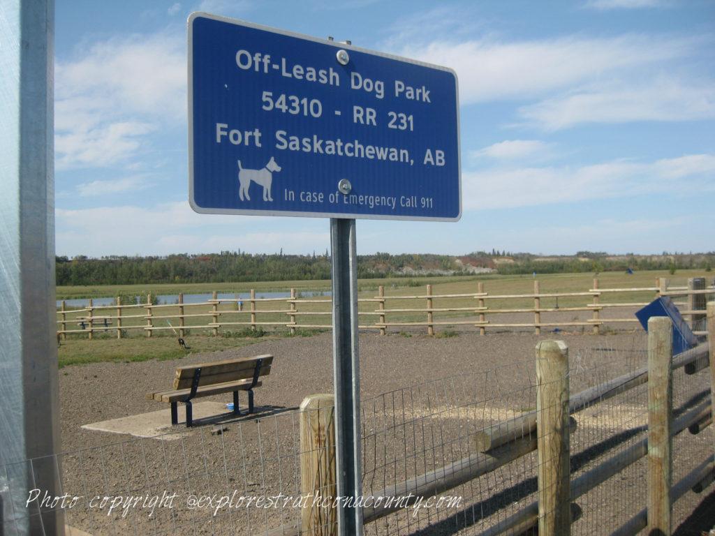 Fort Saskatchewan Off Leash Dog Park