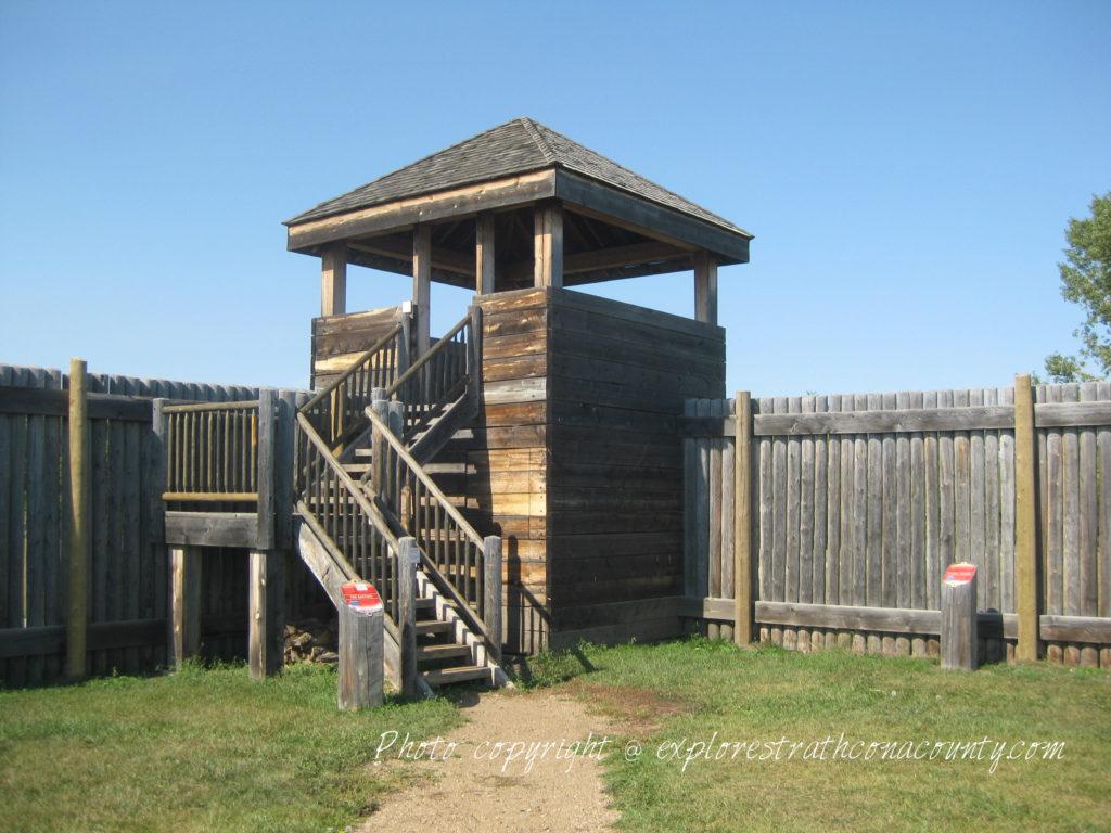 Fort Saskatchewan NWMP Fort