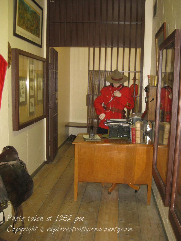 RCMP exhibit Strathcona County Museum