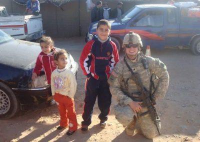 Nick in Iraq