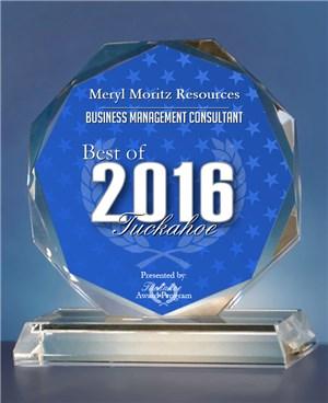 Meryl Moritz Resources Receives 2016 Best of Tuckahoe Award