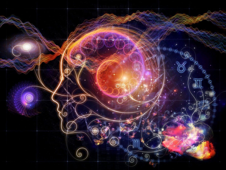 Tarot and zodiac symbols