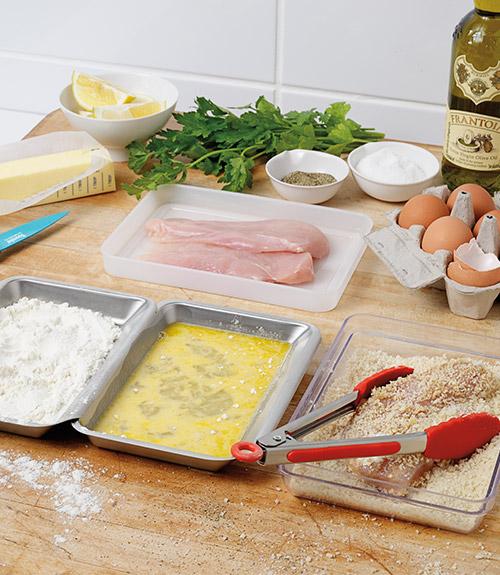 Food Prep Trays - Set of 4